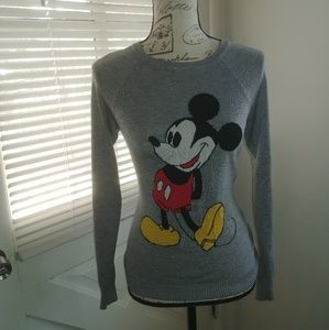 Mickey Mouse knit sweater
